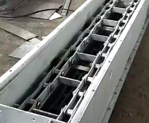化工耐腐刮板机